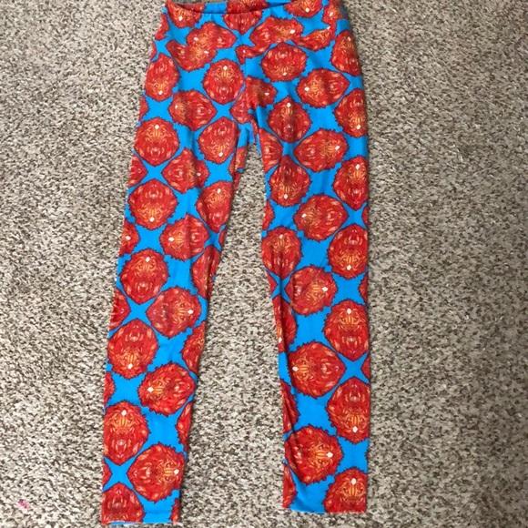LuLaRoe Pants - Lion LulaRoe leggings